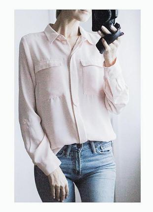 """Пудровая блуза """"next"""""""