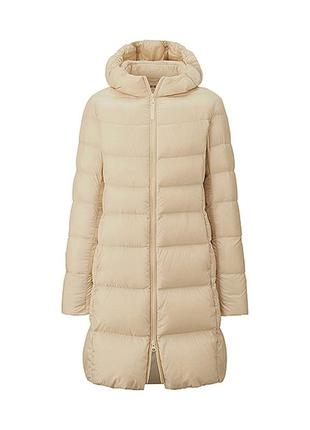 Изумительное пуховое пальто uniqlo