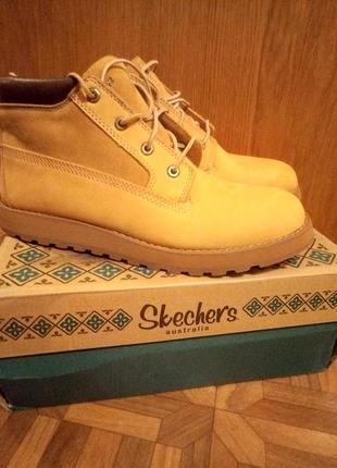 Отличные удобные ботинки из натурального нубука