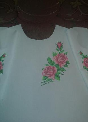 Блуза бисером