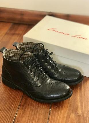 Итальянские кожаные ботинки emma lou