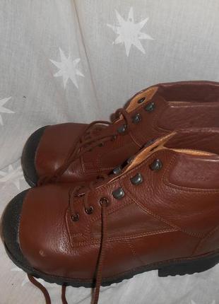 Кожаные рабочие ботинки 40-40,5 р