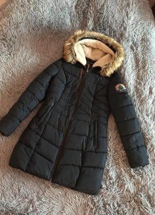 Пуховик, зимняя куртка на холлофайбер