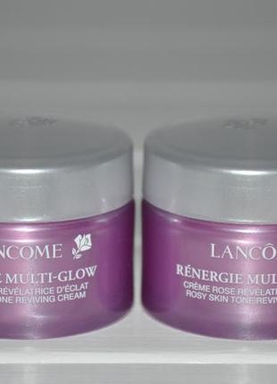 Антивозрастной крем для тусклой кожи lancome renergie multi-glow cream