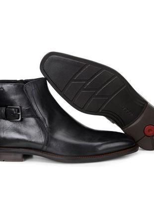Якісні шкіряні черевики ecco faro екко экко