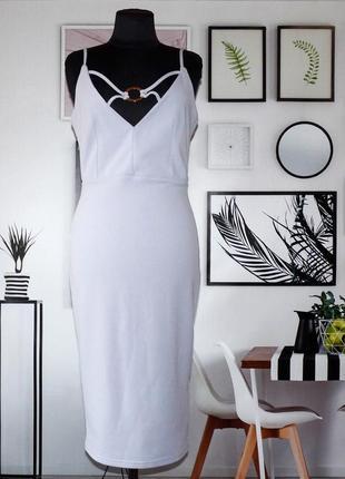 Платье трикотажное серо-сиреневое