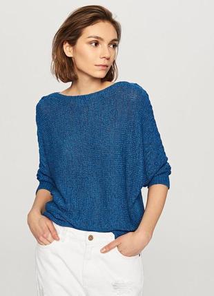 Актуальный объемный свитер оверсайз