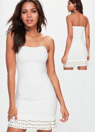Бандажное платье  missgiuded uk12-10