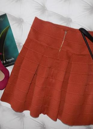 Бандажная пышная юбка