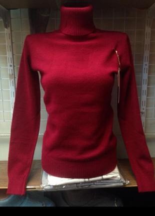 Утепленный гольф, свитер milano (разные цвета)