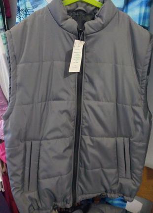 Мужские куртка-жилетик безрукава розмір-48,54,56