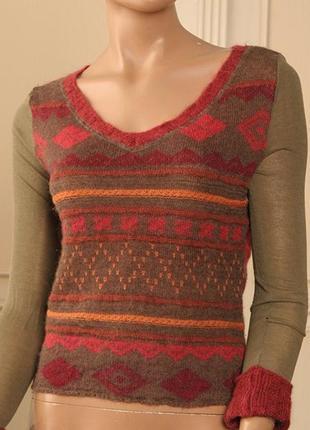 Теплый свитер trussardi оригинал !