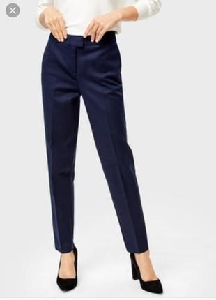 Фирменные классические брюки next зауженные к низу