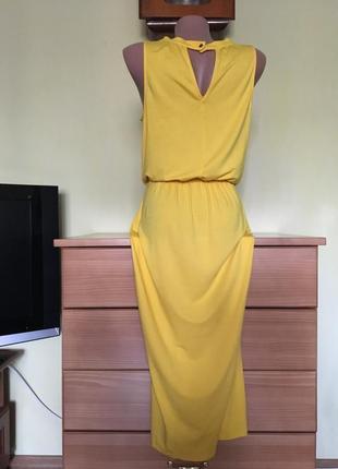 Платье сочного желтого цвета xs oasis