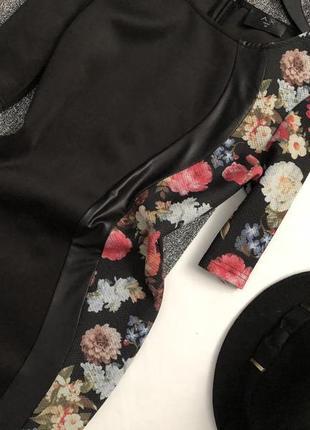 Красивейшее комбинированное платье миди по фигуре ax paris