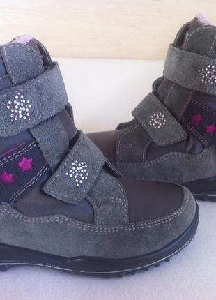 Зимние ботинки , сапоги ricosta с мембраной sympatex р. 28 ст.18 см германия !оригинал !