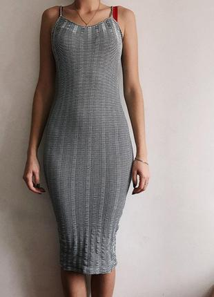 Платье миди от pull&bear