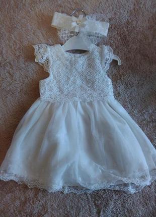 Красивенное платье на маленькую принцесску
