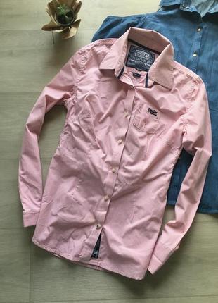 Стильная рубашка в полоску