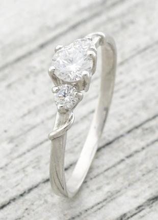 Кольцо серебряное авенси 1516