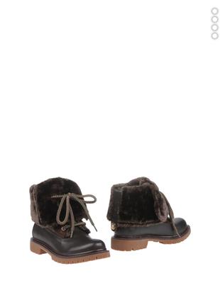 Ботинки кожаные италии, бренд liu jo