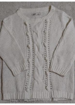 Уютный вязаный свитер old navy