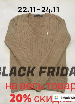 Оригинальный свитер ralph lauren