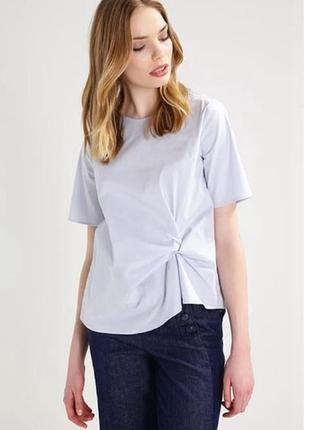 Небесная блуза opus в стиле cos