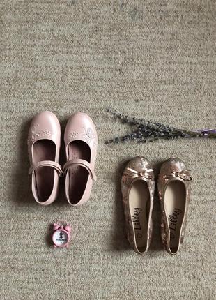 Туфельки на девочку + балетки в подарок