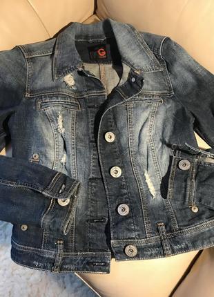 Пиджак джинсовый g by guess