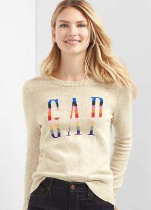 Красивый свитер gap l-xl2 фото