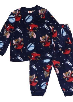 """Новая флисовая пижама """"том и джерри"""", original marines, 0977"""