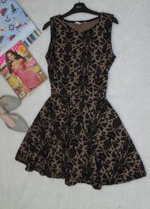 Трикотажное платье 14 размера от new look