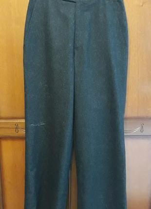 Marc cain брендовые шерстяные#теплые брюки#штаны, шерсть.