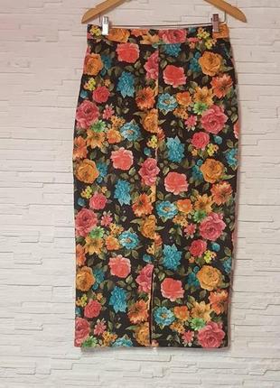 Обалденная миди юбка карандаш collection london