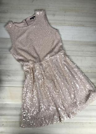 Нарядное коктельное вечернее платье