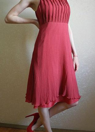Обворожительное шелковое платье mango