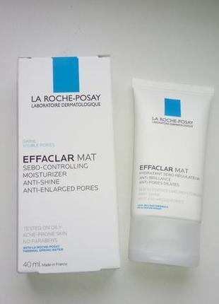 La roche-posay effaclar mat матирующий дневной крем.1 фото