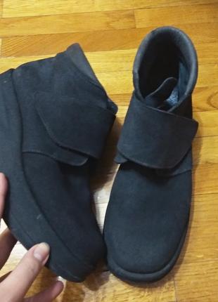Стильние ботинки ,нубук