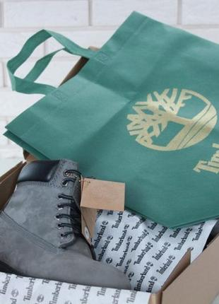 abf4fc4c0228 Шикарные зимние ботинки timberland grey с мехом унисекс (мужские  женские)