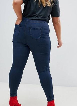 Стильные и ультракомфортные джинсы-джеггинсы next синего цвета.