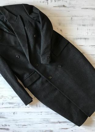 Классическое пальто из итальянской шерсти