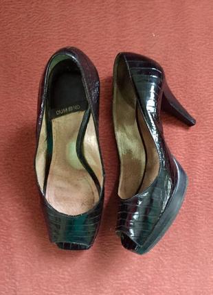 Туфли лаковые dumond