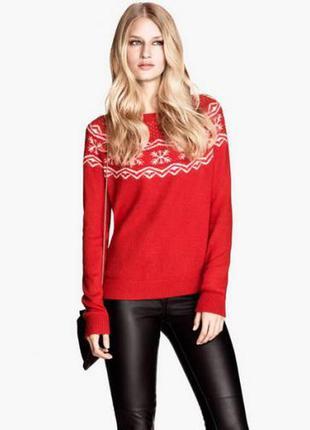 Классный свитер на рождество из ангоры