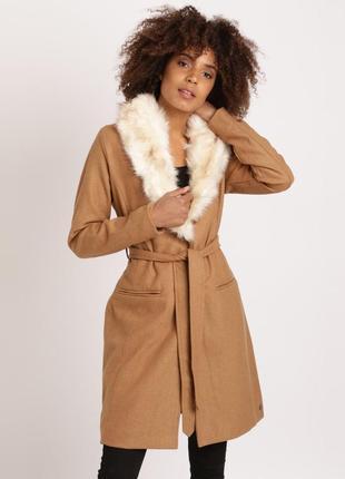 081a961c331f Шикарне пальто кольору кемел, 51% шерсть, осінь весна демісезон