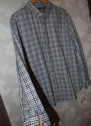 Фирменная рубашка в клетку john rocha
