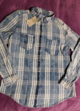 Рубашка джинсова denim co