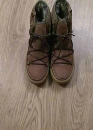 Зимние, теплые ботинки roxy