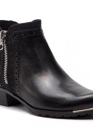 Ботинки caprice германия, оригинал. натуральная кожа. 36-40