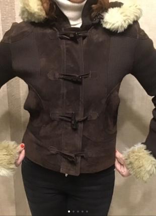 Куртка замшевая jane norman размер 10